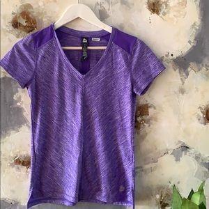EUC Reebok Dryfit Shirt purple T-shirt Size Small